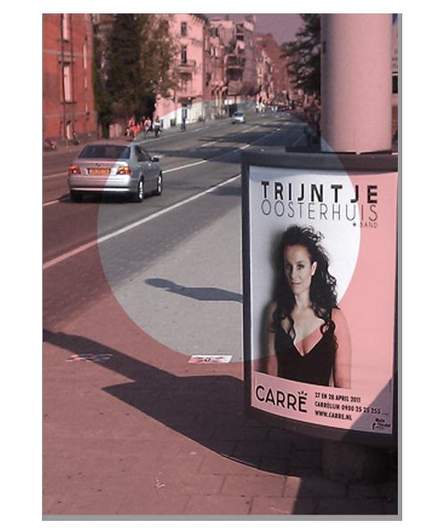 Poster TrijntjeOosterhuis live