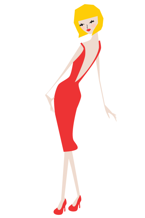 modepopje Red 1