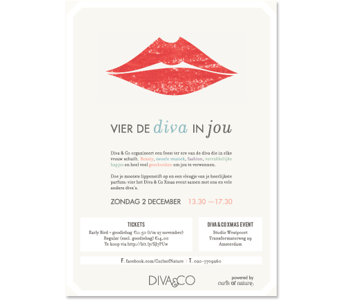 Flyer DIVA event