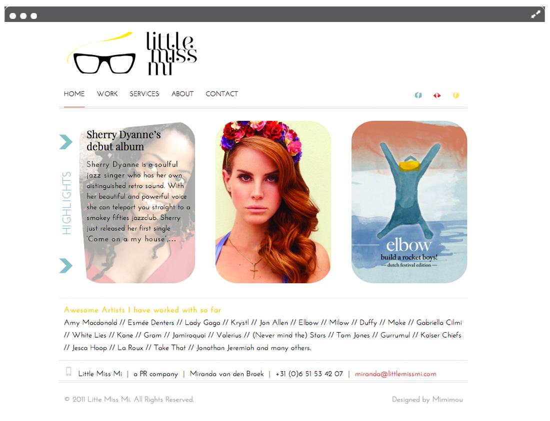 Website Little Miss Mi