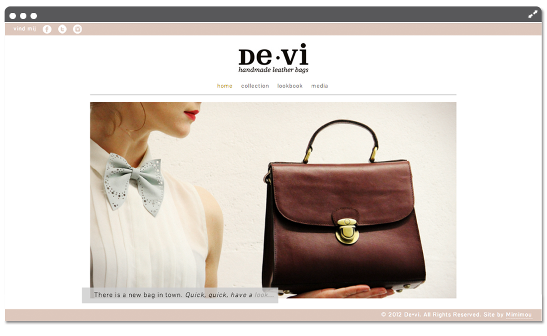 Website de•vi home
