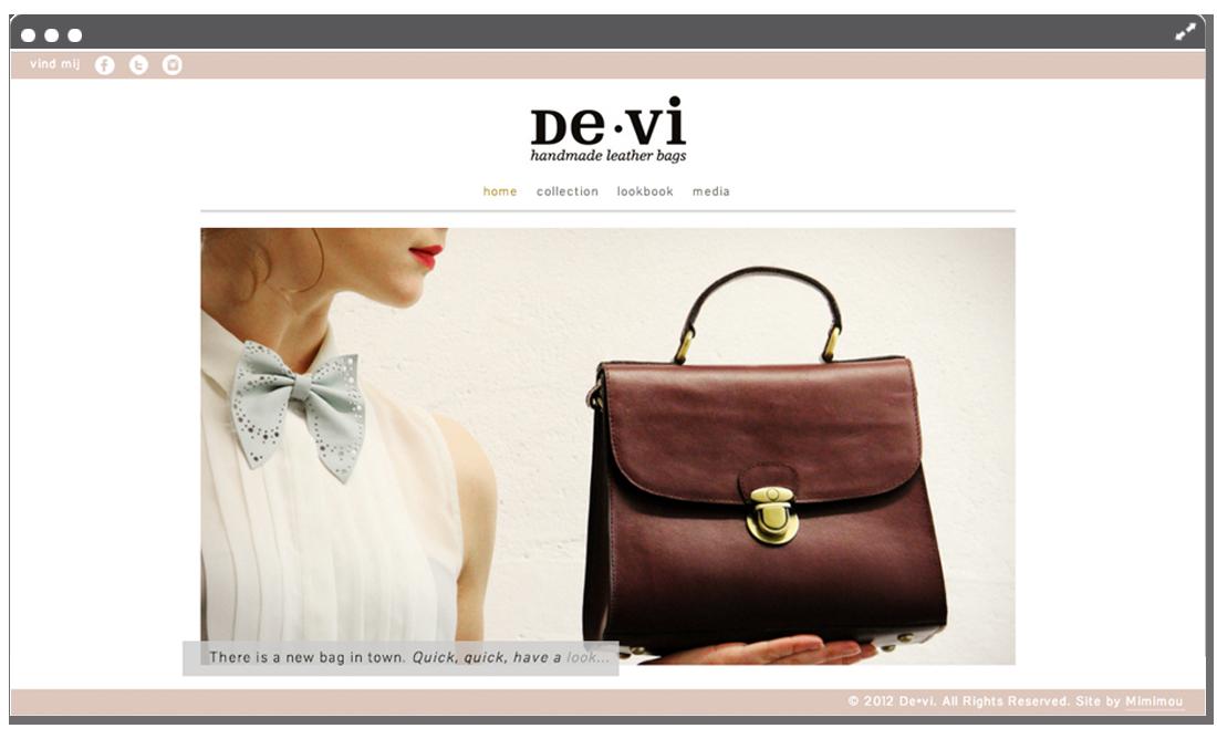 Website de•vi home