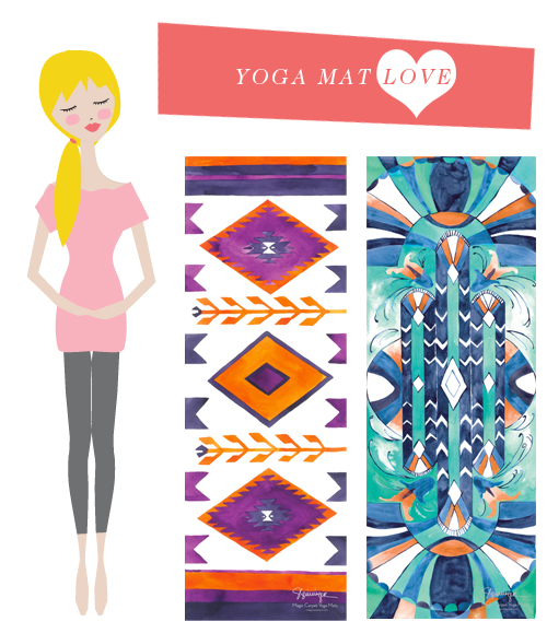yoga mat love
