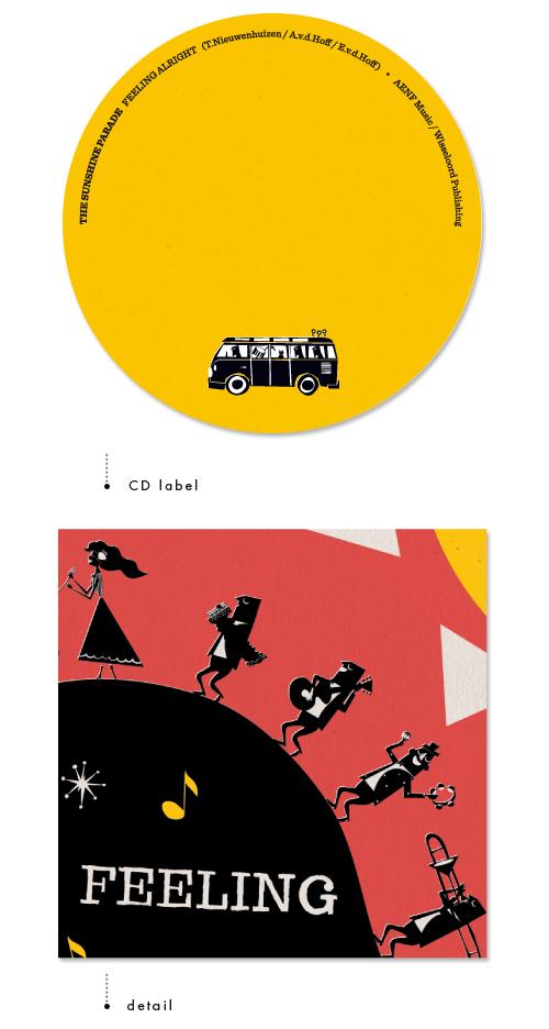The Sunshine Parade   CD label & detail