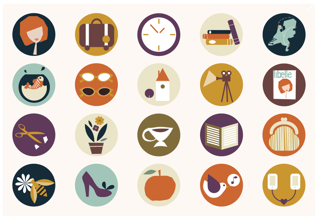 Libelle forum icons by Mimimou