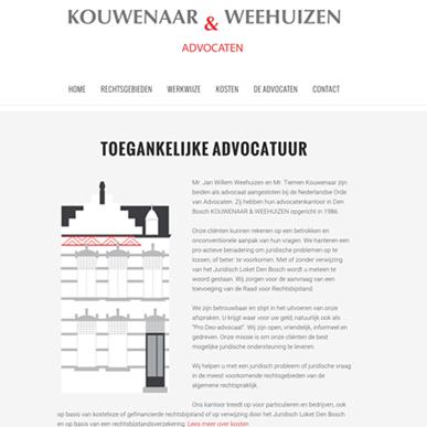 Kouwenaar & Weehuizen advocaten