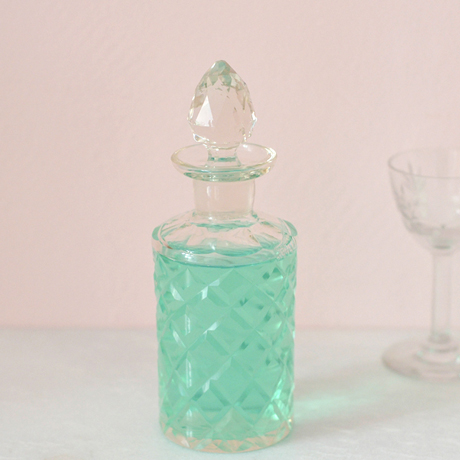 mouthwater in a crystal bottle  by mimimou.com